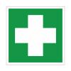 Аптечка первой медицинской помощи. знаки безопасности