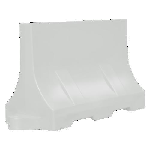 Дорожный барьер водоналивной, пластиковый БВ-1.2-Б [белый]