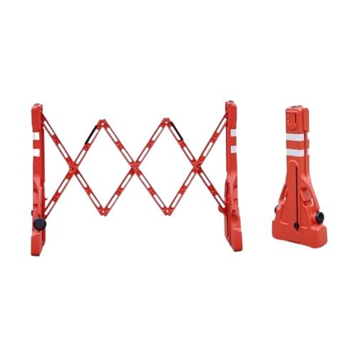 Переносной раздвижной барьер (красный)