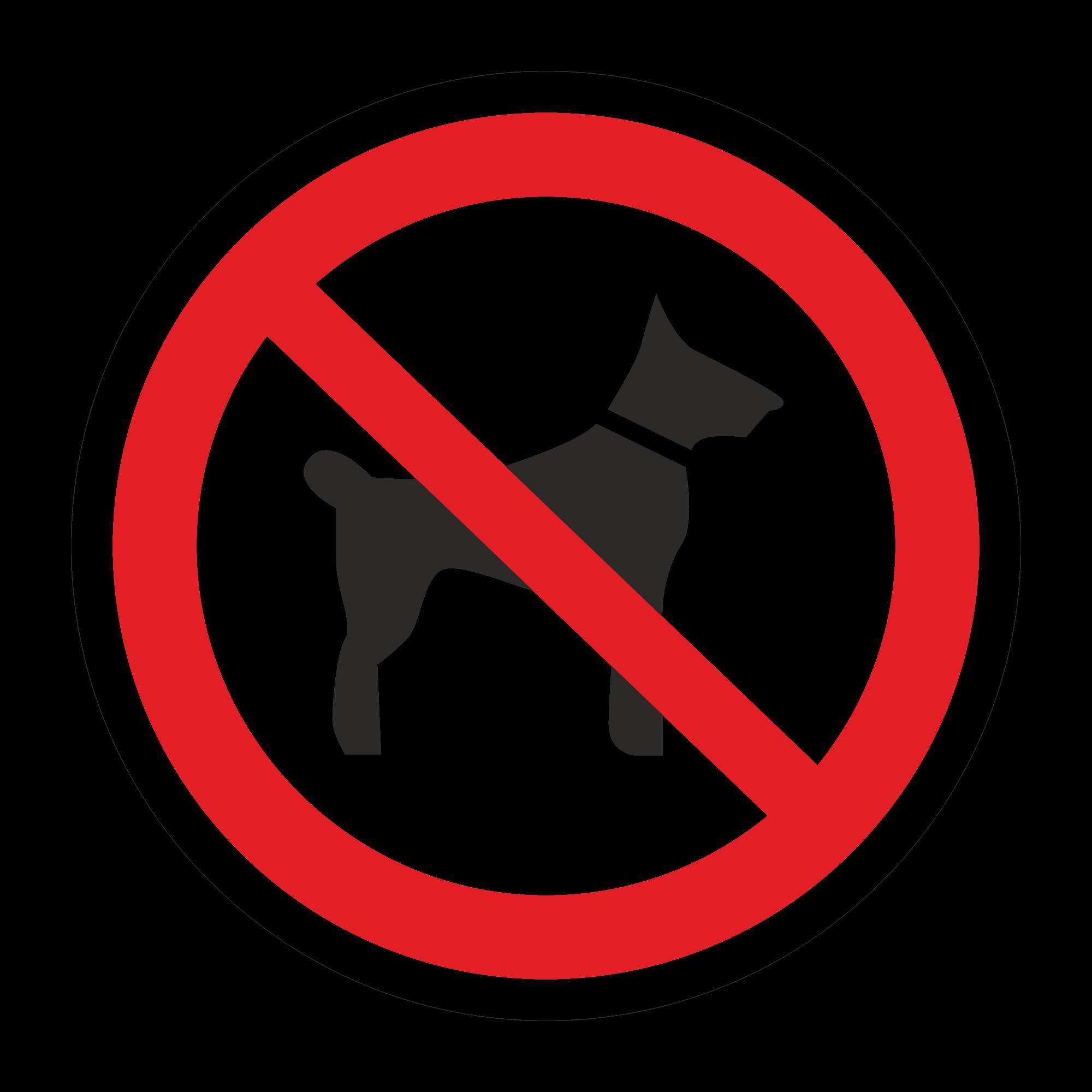 Р14 Запрещается вход с животными