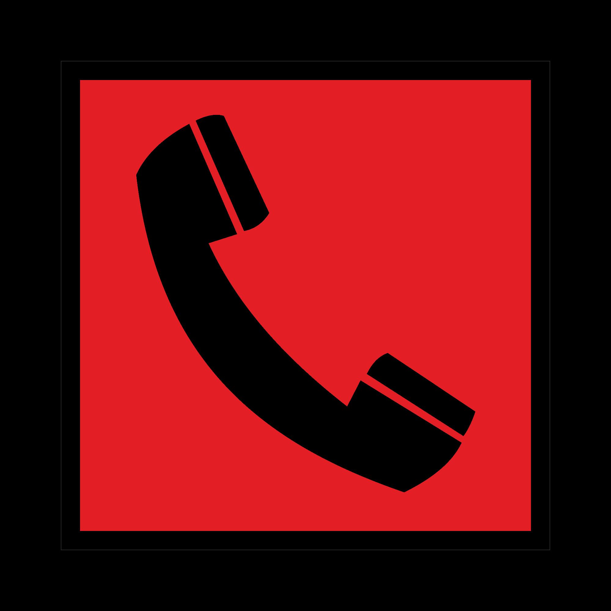 F05 Телефон для использования при пожаре
