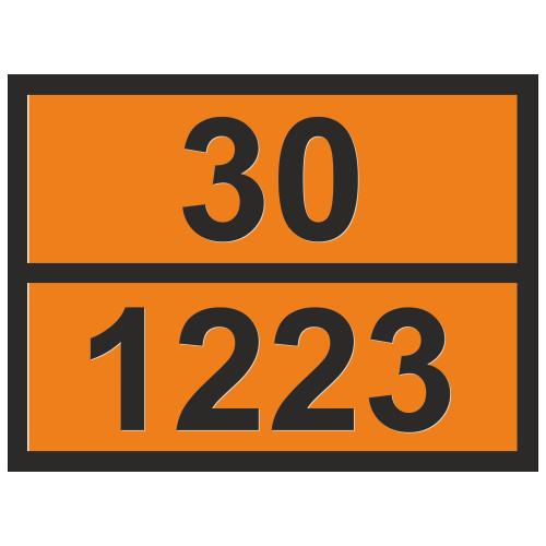 Табличка опасный груз 30-1223 Керосин