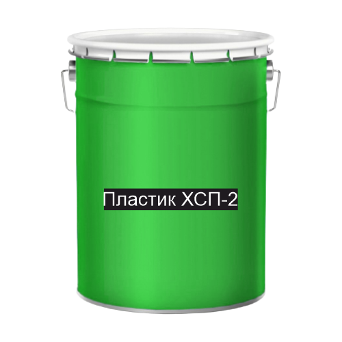 Холодный пластик для дорожной разметки зеленый ХСП-2