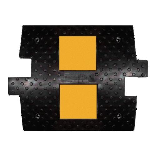 ИДН 500 резиновая, средний элемент с кабель каналом