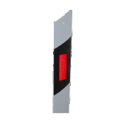 Металлический дорожный сигнальный столбик С3 гибкий скошенный верх