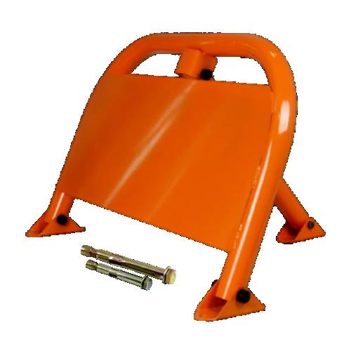 Парковочный барьер с листом для рекламы БМП-750Л с крепежом