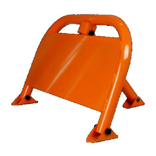 Парковочный барьер с листом для рекламы БМП-750Л