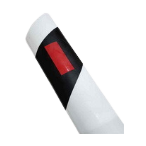 Пластиковый дорожный сигнальный столбик С3 скошенный верх