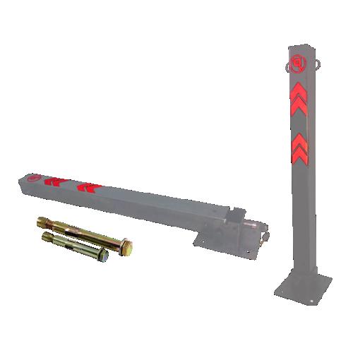 Столбик парковочный откидной СПО-1 с крепежом