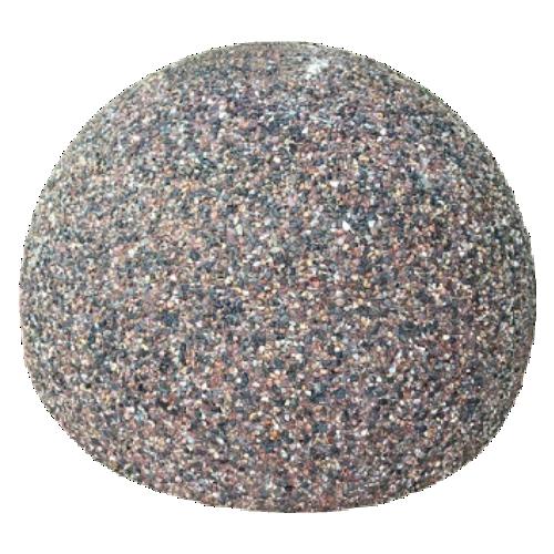 Бетонная полусфера БПС-5 [С каменной крошкой, антипарковочная]