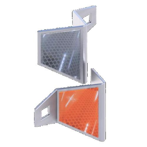 Катафот дорожный КД-5 металлический, световозвращатель [тип пленки Б]