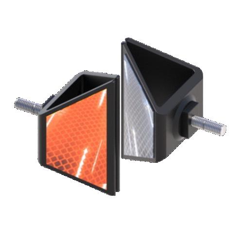 Катафот дорожный КД-5Р резиновый, световозвращатель [тип пленки А]