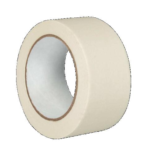 Клейкая лента для разметки, маркировки пола белая (Standart)