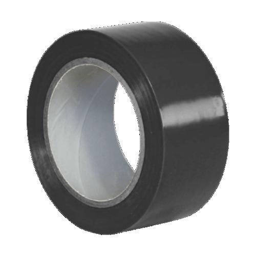 Клейкая лента для разметки пола черная (Standart)