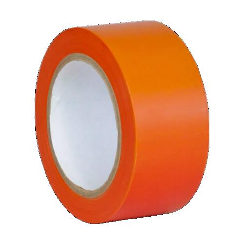 Клейкая лента для разметки пола оранжевая (Standart)
