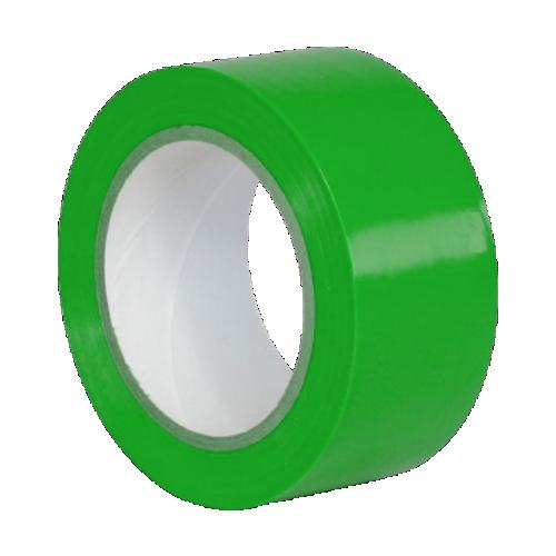 Клейкая лента для разметки, маркировки пола зеленая (Standart)
