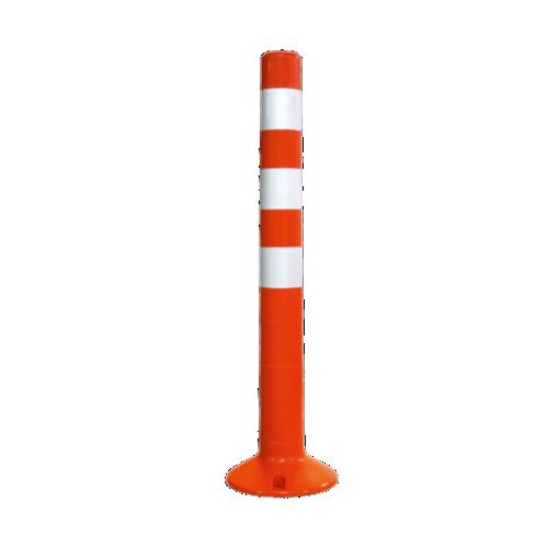 Столбик сигнальный упругий ССУ-750-3 [мягкий, гибкий, парковочный дорожный столбик]