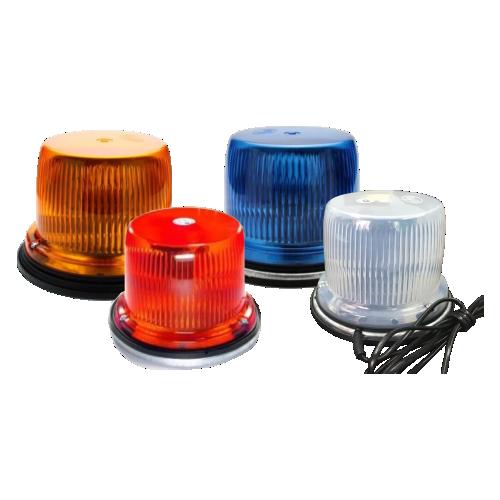 Светодиодный маяк ФП-1-120 (6 диодов) [Мигалка для автомобилей, магнитное крепление]