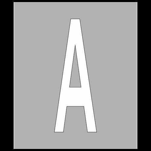 """Трафарет для дорожной разметки 1.23.1 """"Обозначение полосы для маршрутных ТС"""""""