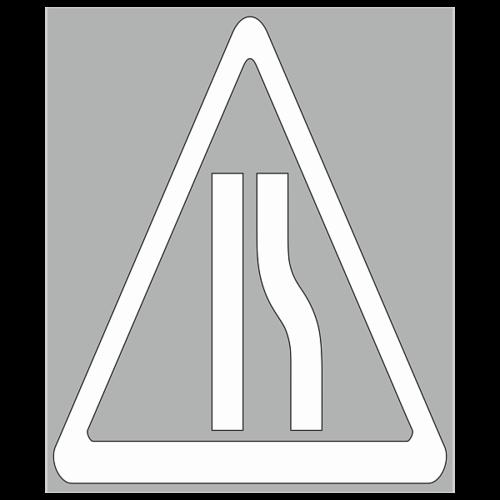 """Трафарет для дорожной разметки 1.24.1 """"Предупреждающие знаки"""""""