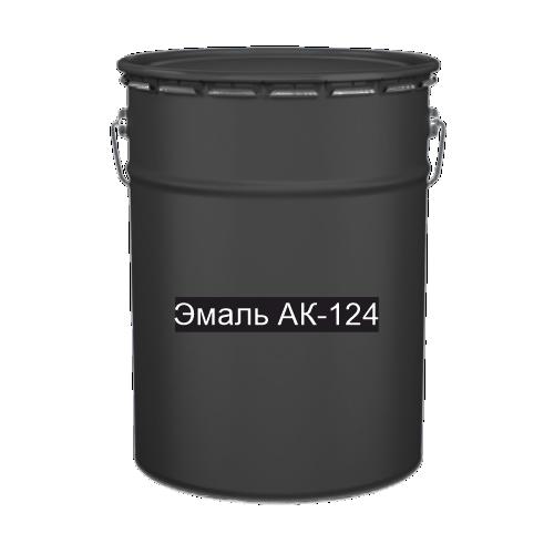 Краска для дорожной разметки Эмаль АК-124 черная