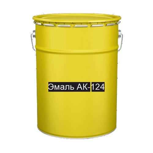 Краска для дорожной разметки Эмаль АК-124 желтая